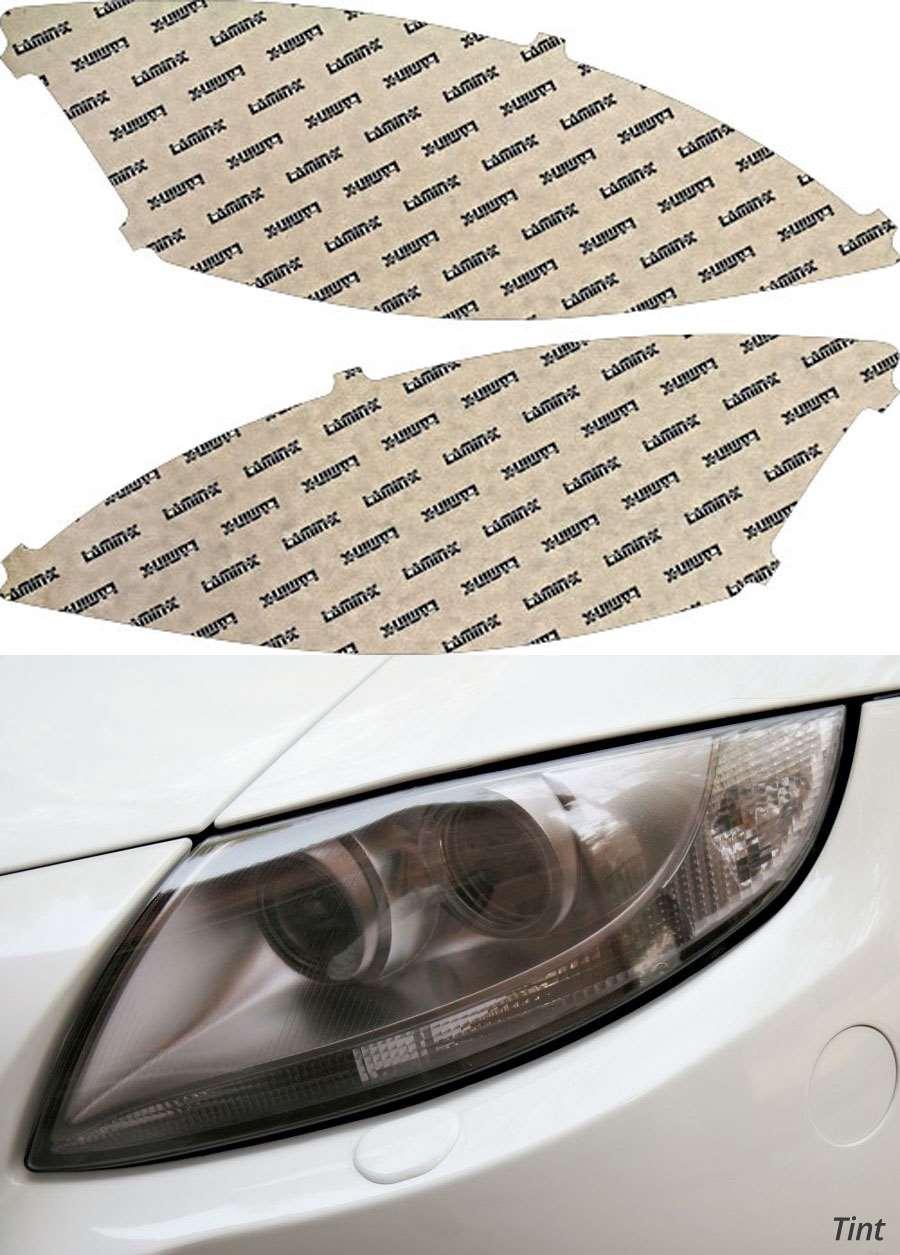 Mercedes S-Class 10-13 Tint Headlight Covers Lamin-X MB034T