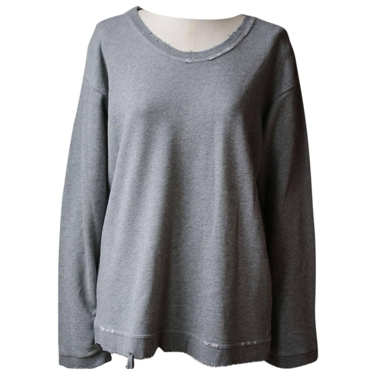 Rta - Pull   pour femme en coton - gris