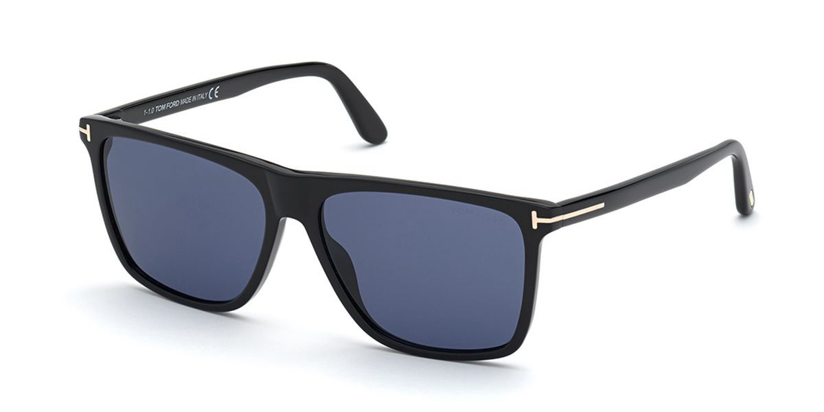Tom Ford FT0832 Fletcher 01V Mens Sunglasses Black Size 57