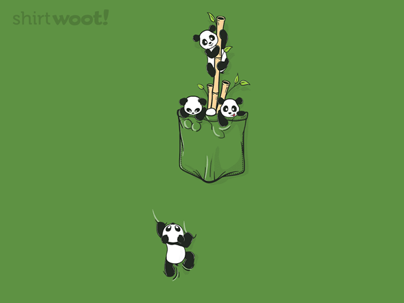 Tiny Pocket Pandas T Shirt