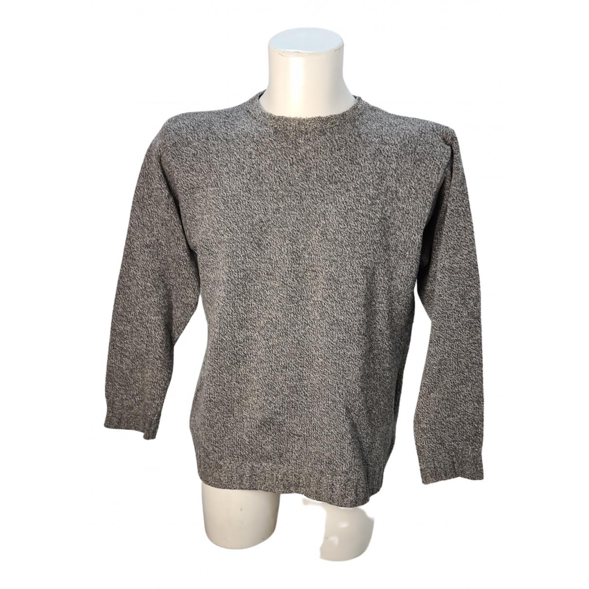 Giorgio Armani N Grey Wool Knitwear & Sweatshirts for Men M International