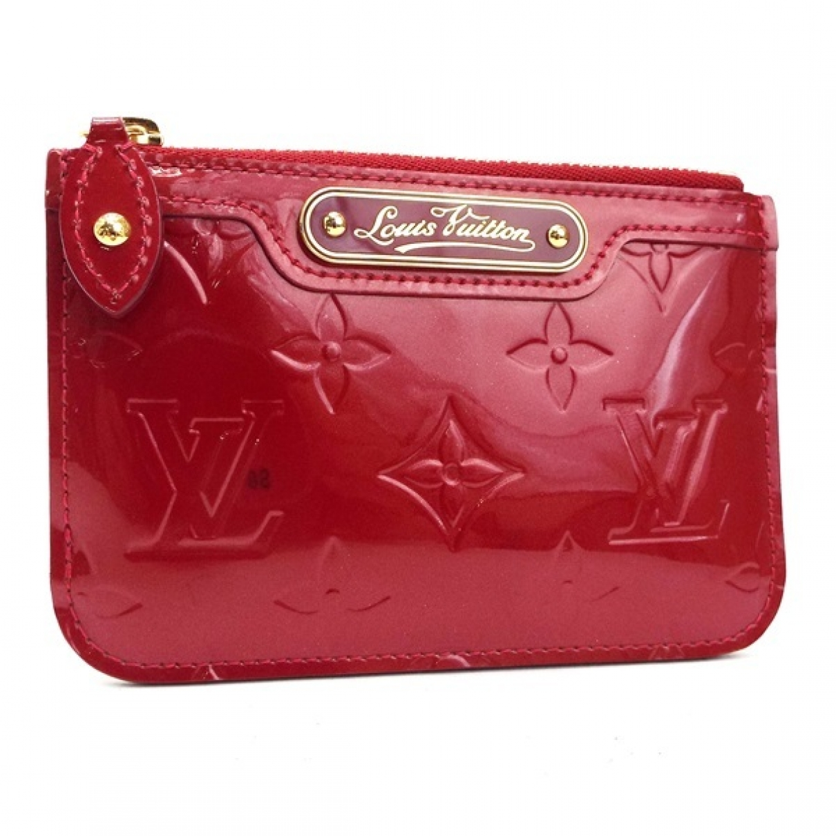 Louis Vuitton \N Red Patent leather Purses, wallet & cases for Women \N