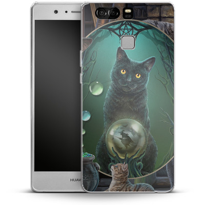 Huawei P9 Silikon Handyhuelle - Magical Cats Montage von Lisa Parker
