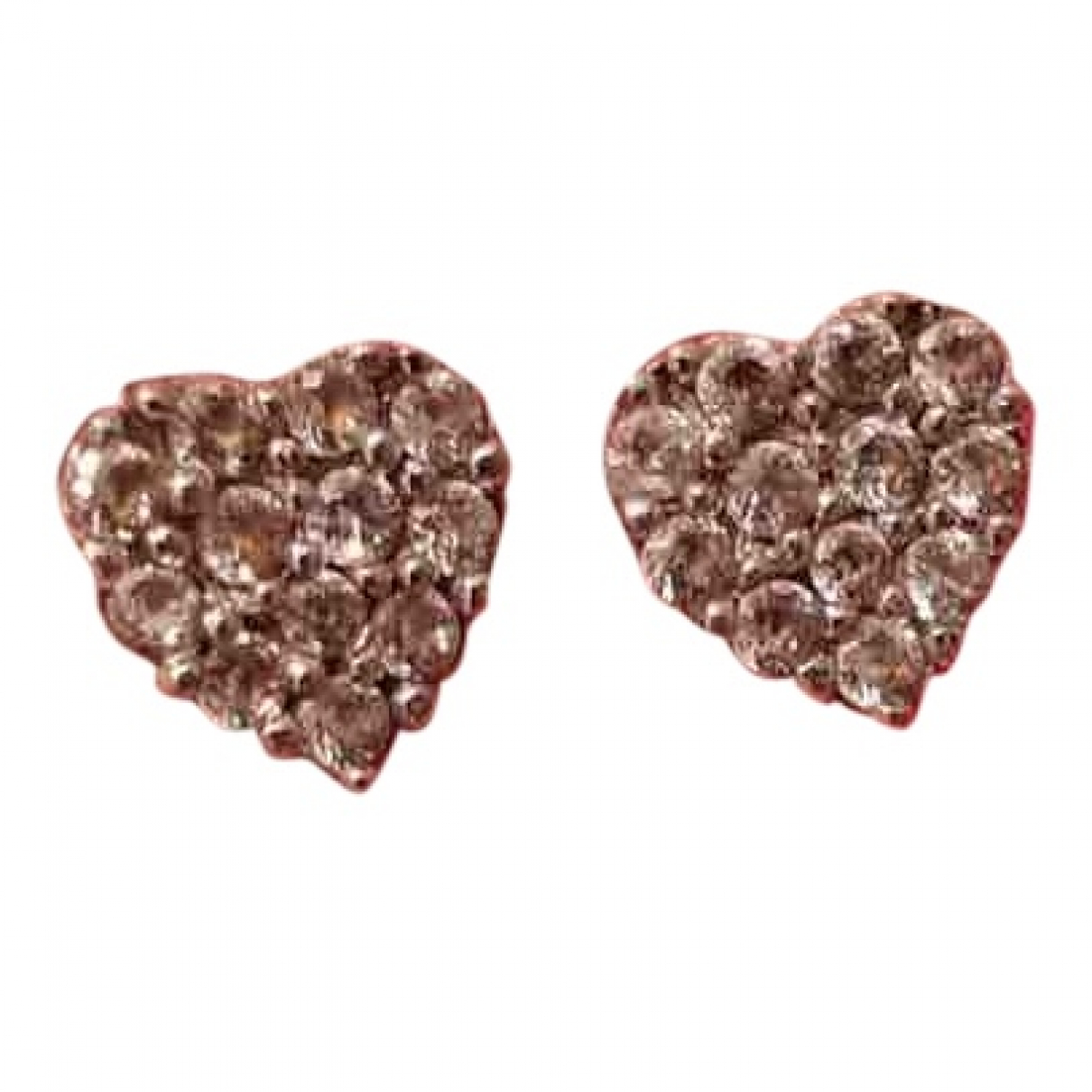 - Boucles doreilles Motifs Coeurs pour femme en argent - argente