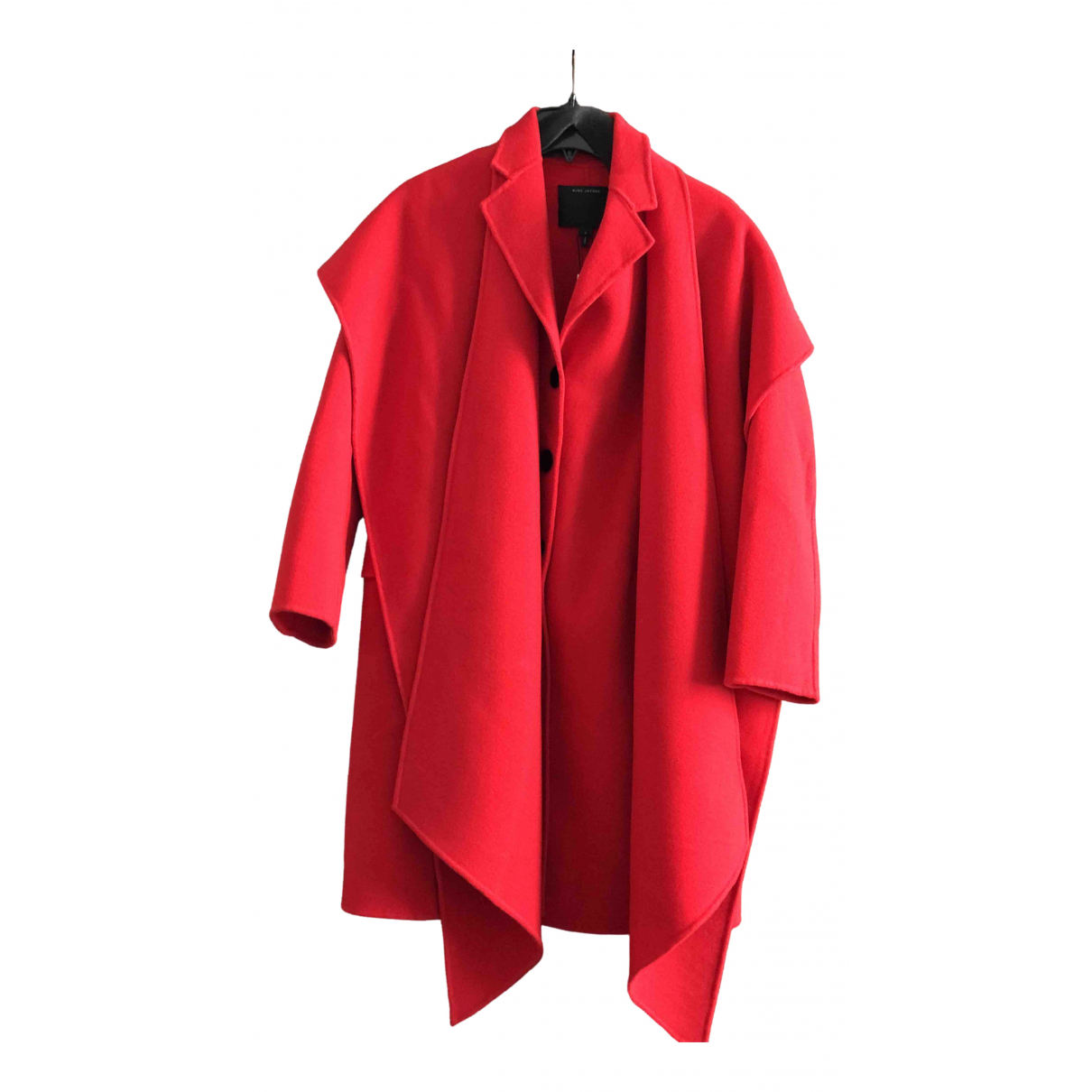 Marc Jacobs \N Maentel in  Rot Wolle