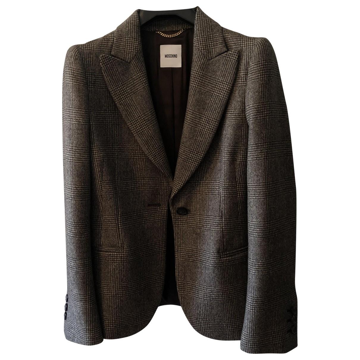 Moschino \N Wool jacket for Women 44 IT