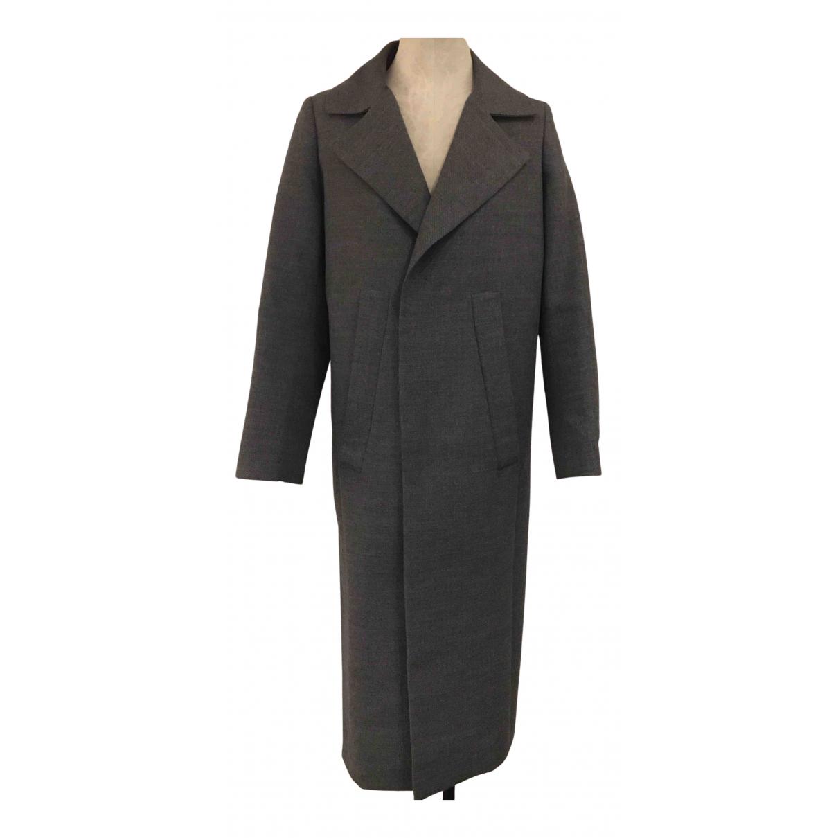 Golden Goose - Manteau   pour femme en coton - gris