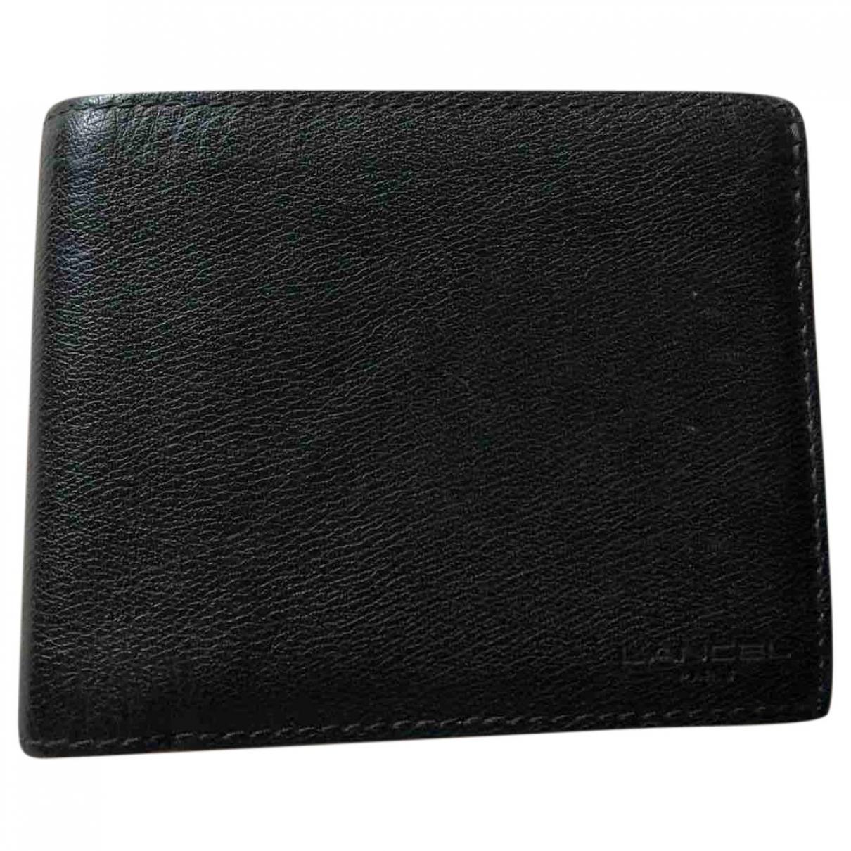 Lancel - Petite maroquinerie Graphic pour homme en cuir - noir