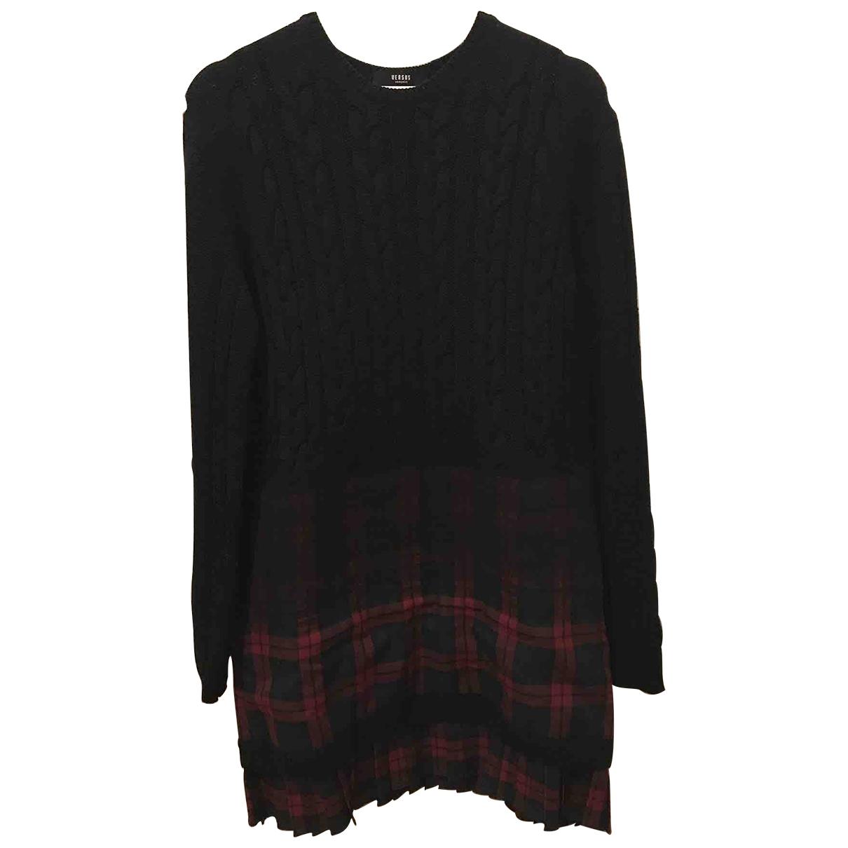 Versus \N Black Wool Knitwear for Women 42 IT