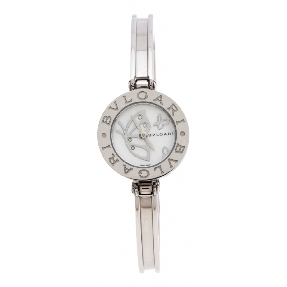 Bvlgari \N White Steel watch for Women \N