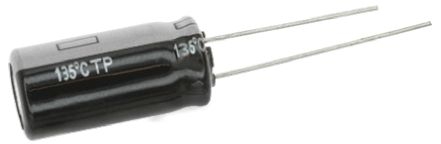 Panasonic 220μF Electrolytic Capacitor 35V dc, Through Hole - EEUTP1V221 (5)
