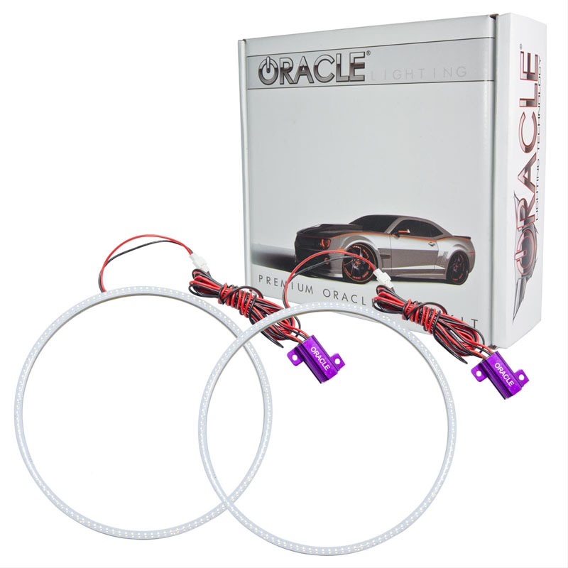 Oracle Lighting 1223-051 Ford Mustang 2010-2012 ORACLE PLASMA Fog Halo Kit - V6 Grill Fogs