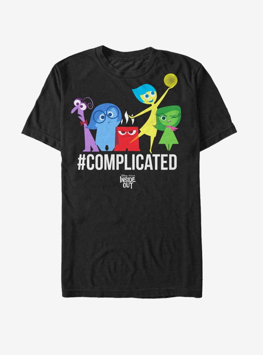 Disney Pixar Inside Out Complicated Emotions T-Shirt