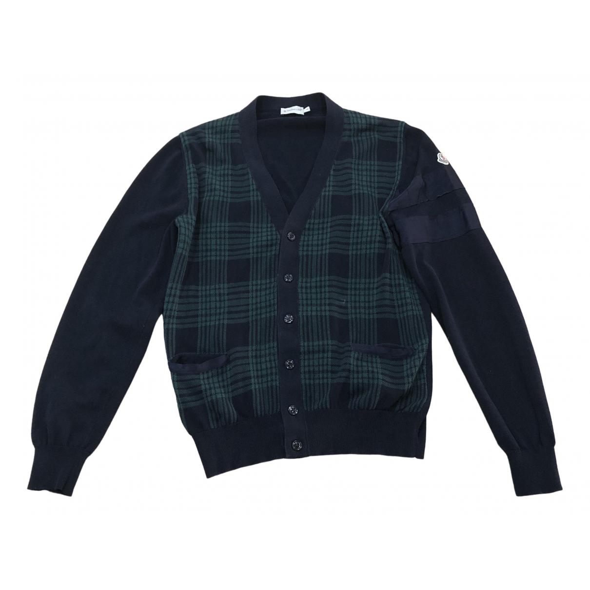 Moncler \N Blue Cotton Knitwear & Sweatshirts for Men L International