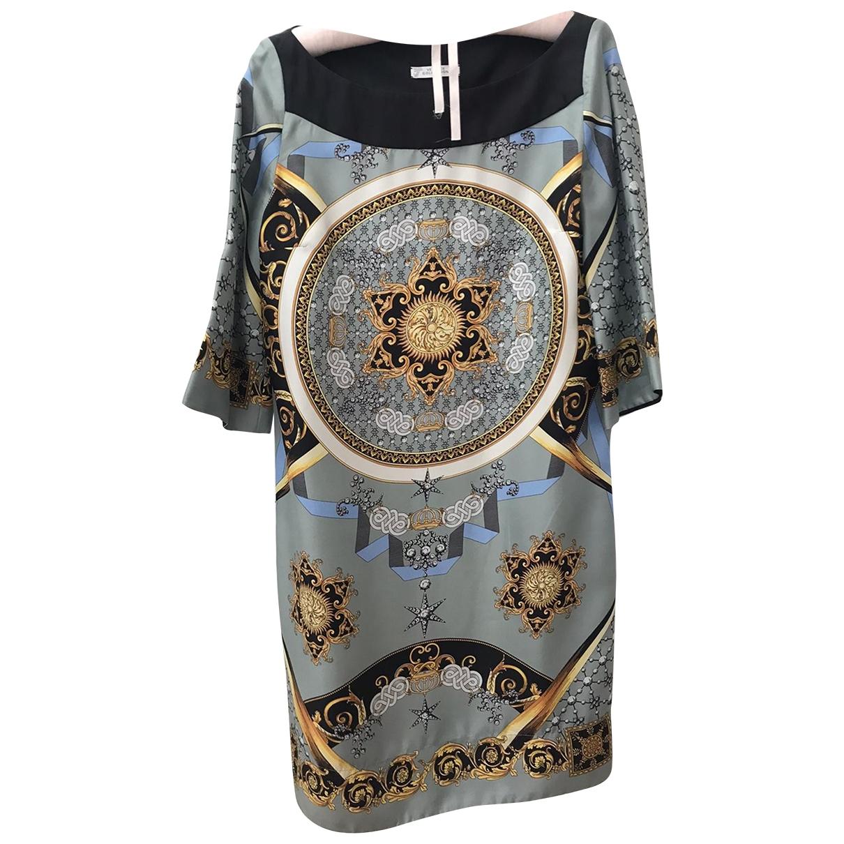 Mini vestido de Seda Versace