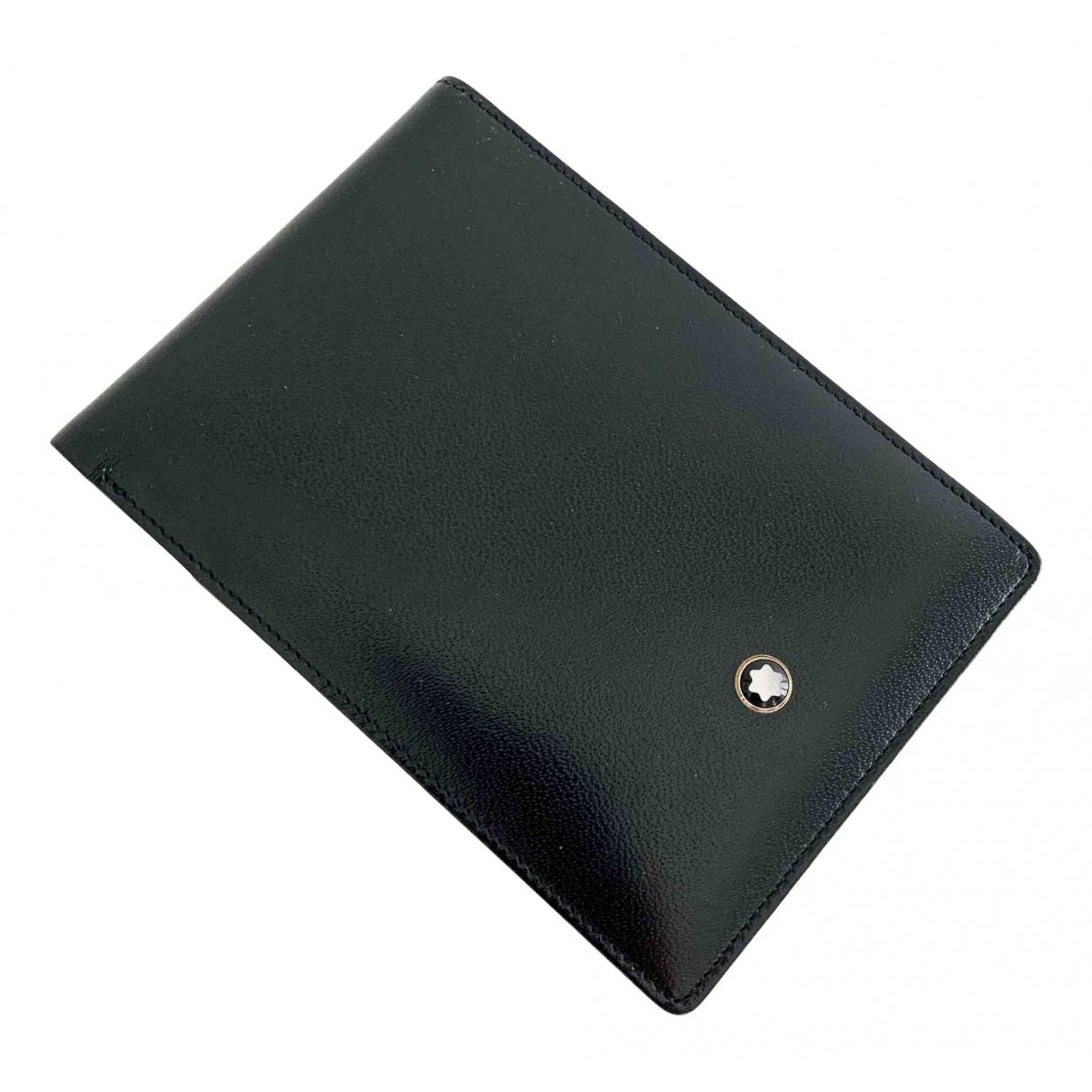 Cuaderno de Cuero Montblanc
