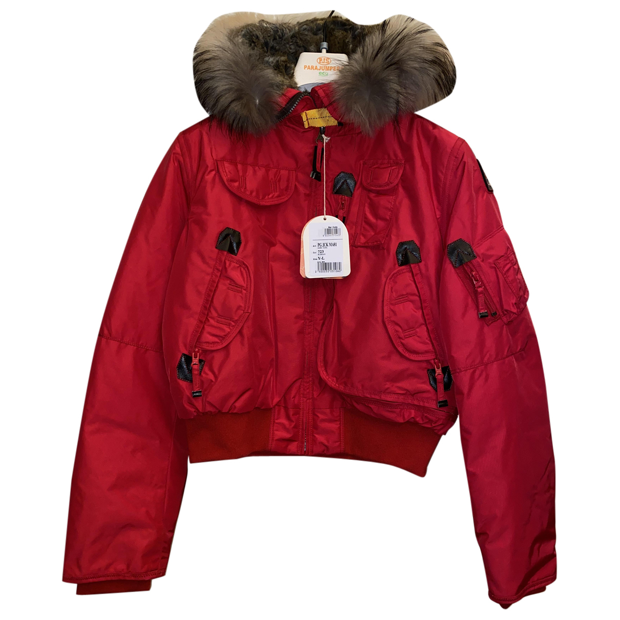 Parajumpers \N Jacke in  Rot Waschbaer