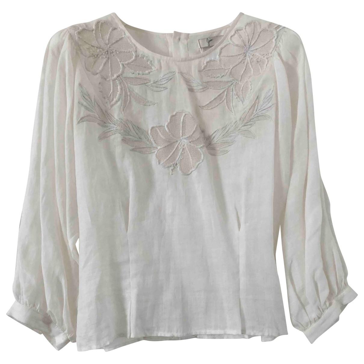 Joie - Top   pour femme en coton - blanc