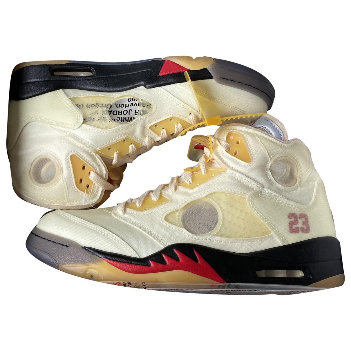 Deportivas Jordan 5 Nike X Off-white