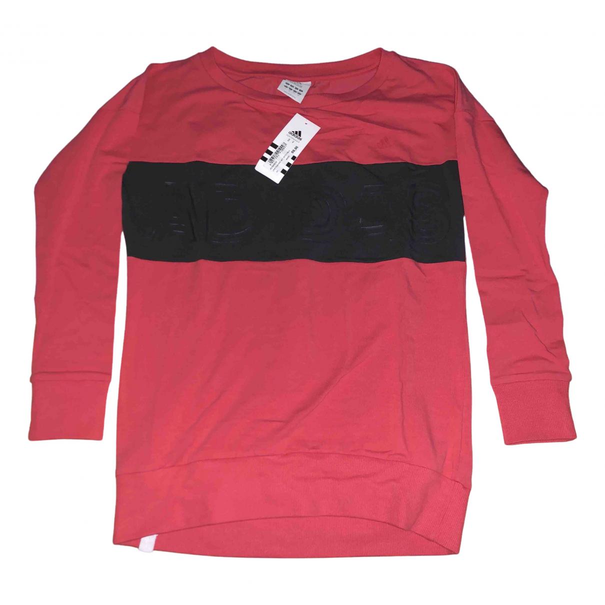 Adidas - Top   pour femme en coton - orange