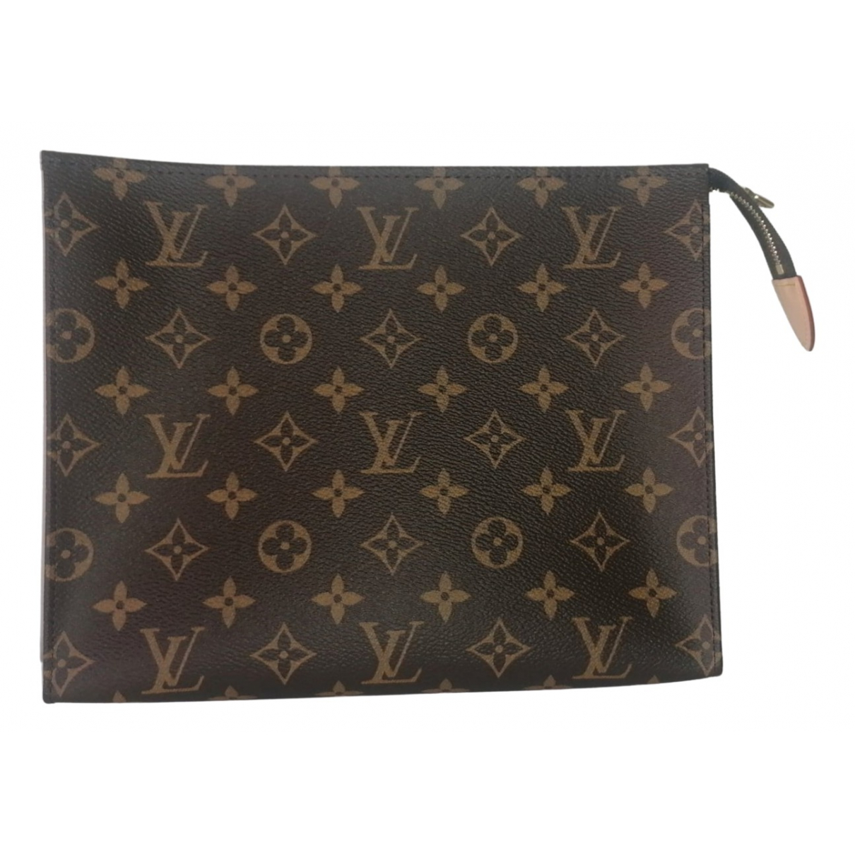 Louis Vuitton - Sac de voyage Poche toilette pour femme en toile - marron
