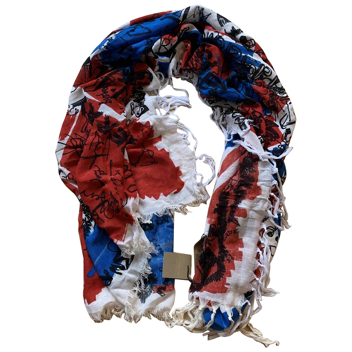 Burberry \N Multicolour Cotton scarf for Women \N