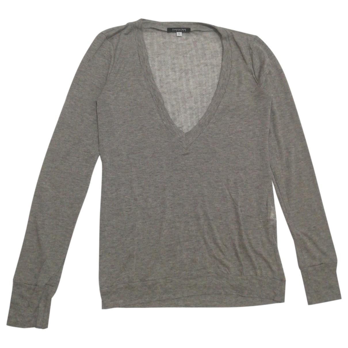 Patrizia Pepe \N Grey Wool  top for Women One Size FR