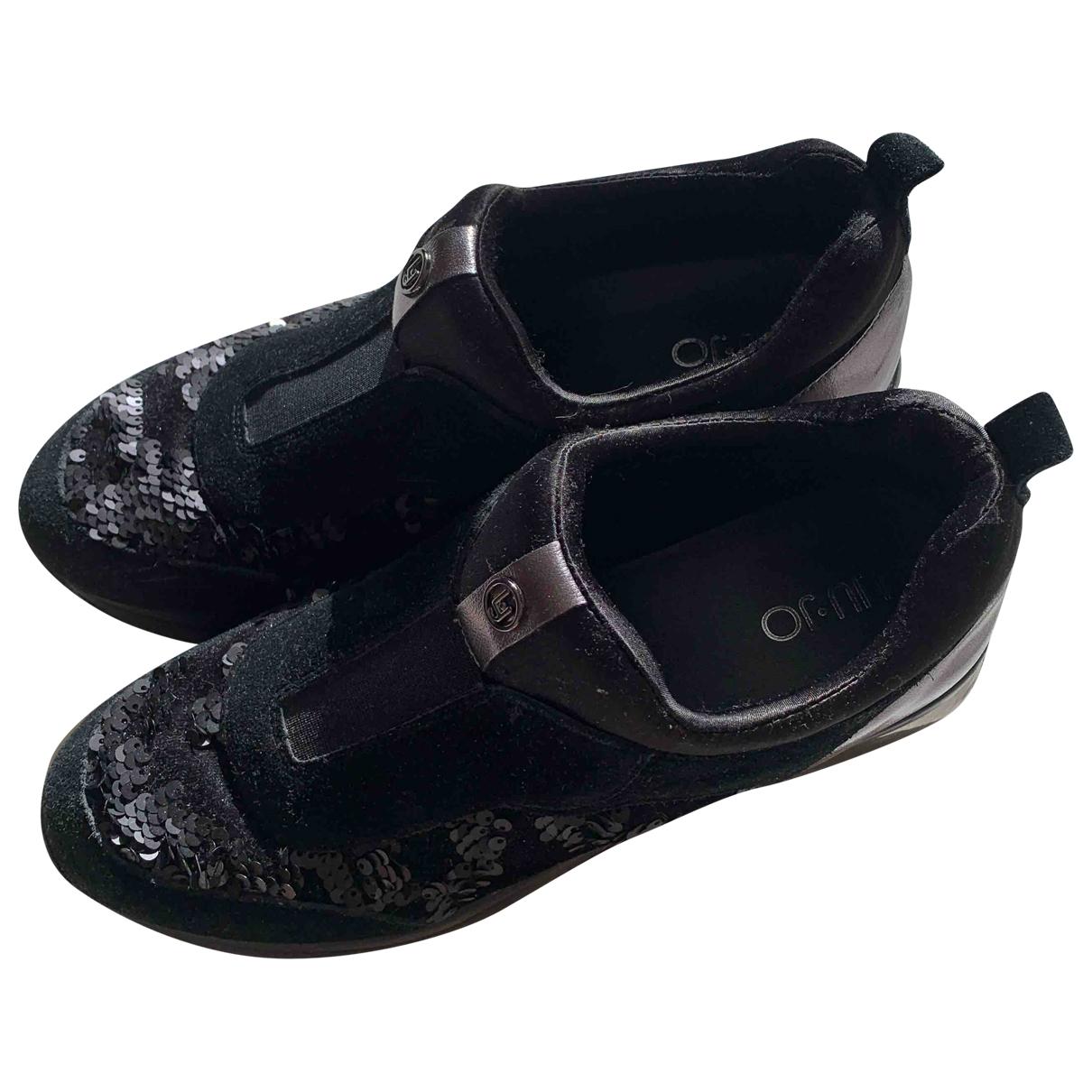 Liu.jo \N Sneakers in  Schwarz Veloursleder