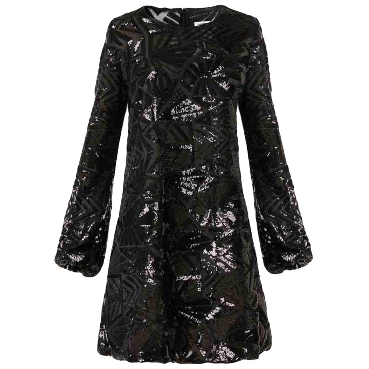 Parosh \N Kleid in  Schwarz Mit Pailletten