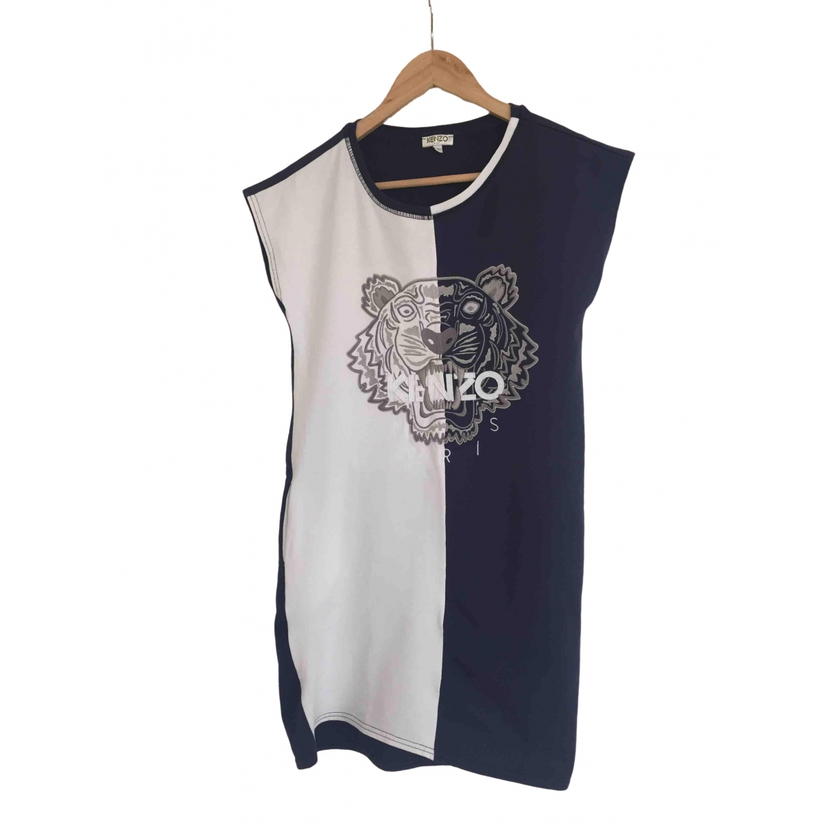 Kenzo \N Blue Cotton dress for Kids 14 years - S FR