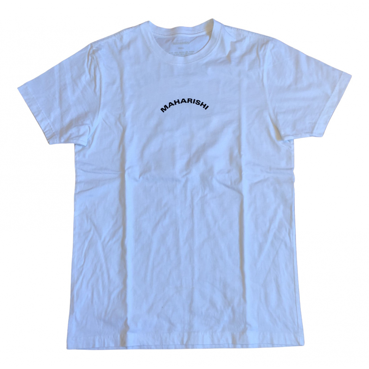 Maharishi - Tee shirts   pour homme en coton - blanc