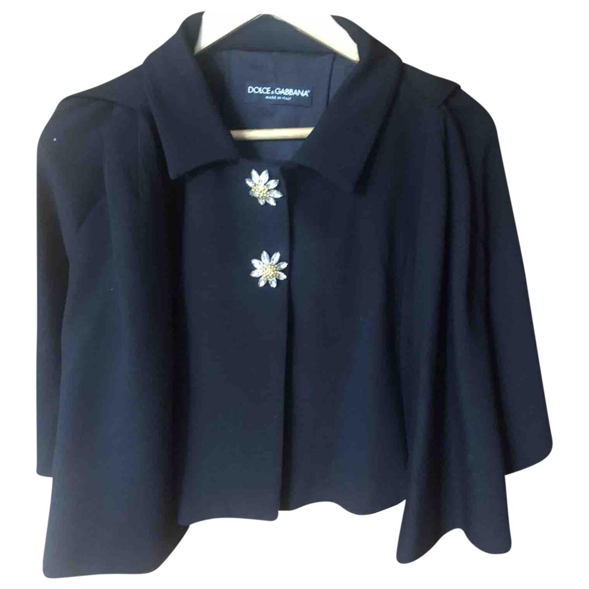 Dolce & Gabbana \N Black jacket for Women 36 FR