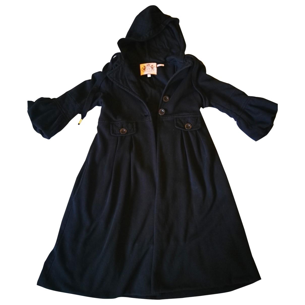 Juicy Couture - Manteau   pour femme en coton - noir