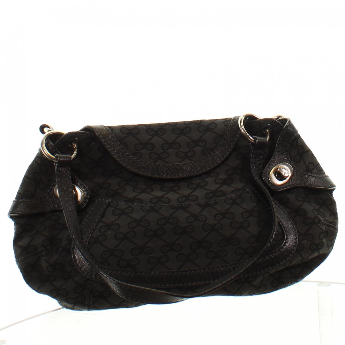 Anya Hindmarch \N Handtasche in  Schwarz Leinen