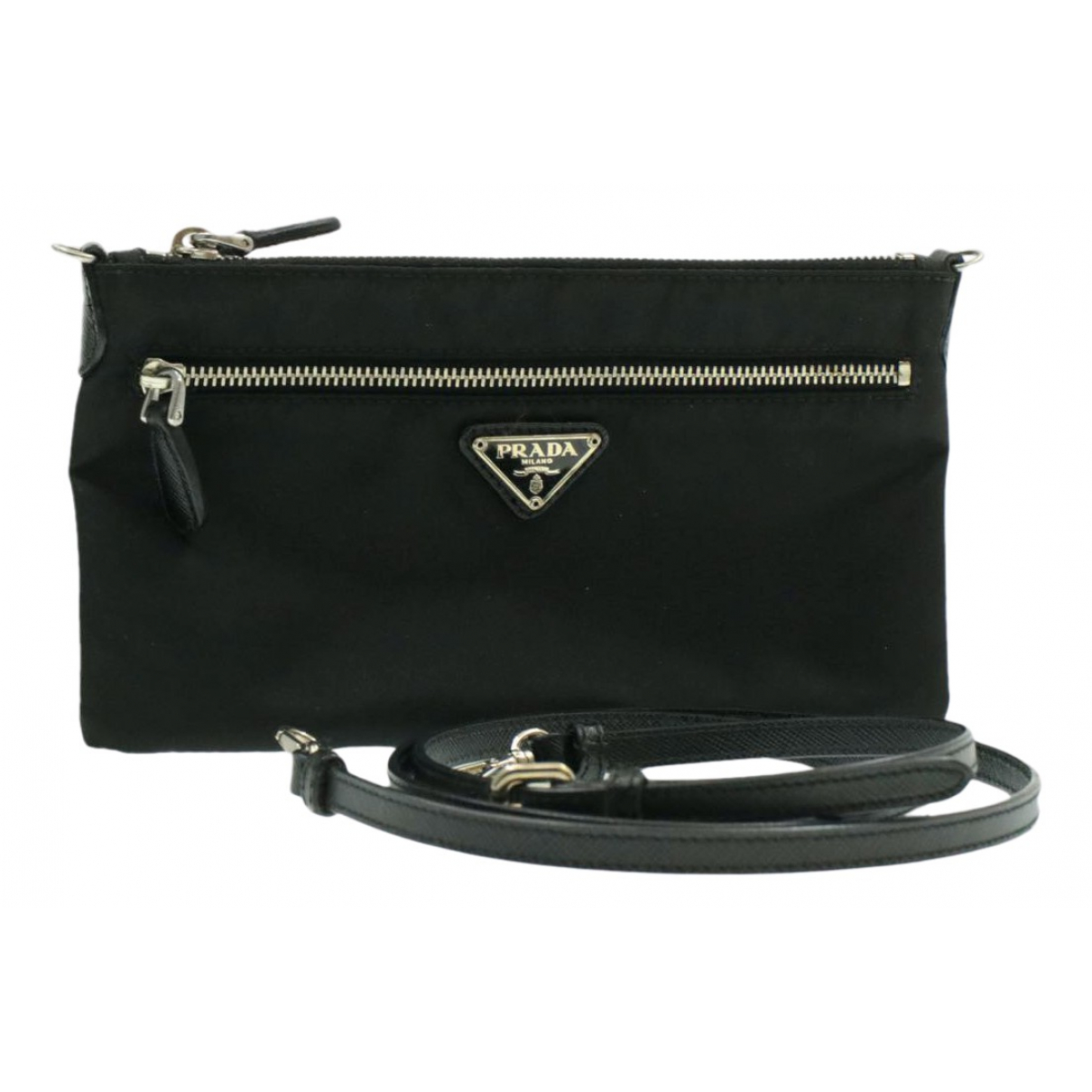 Prada \N Black Cloth Travel bag for Women \N