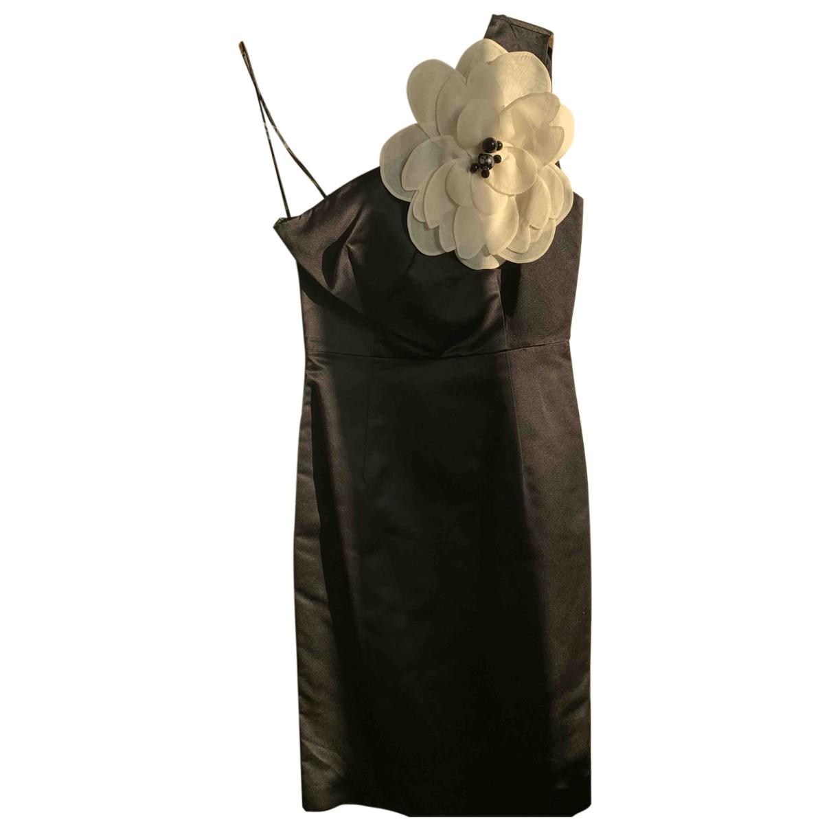 Tara Jarmon \N Black Silk dress for Women 36 FR