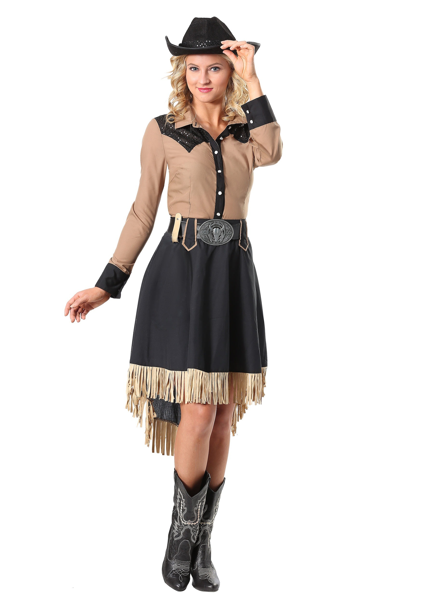 Lasso'n Cowgirl Costume for Women | Western Costume | Exclusive