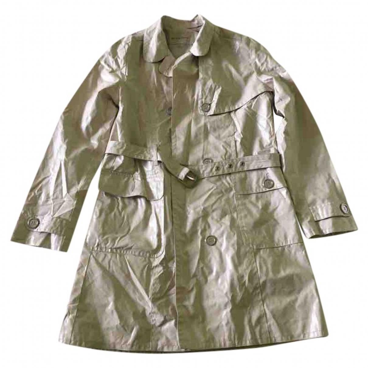 Burberry - Blousons.Manteaux   pour enfant en coton - beige