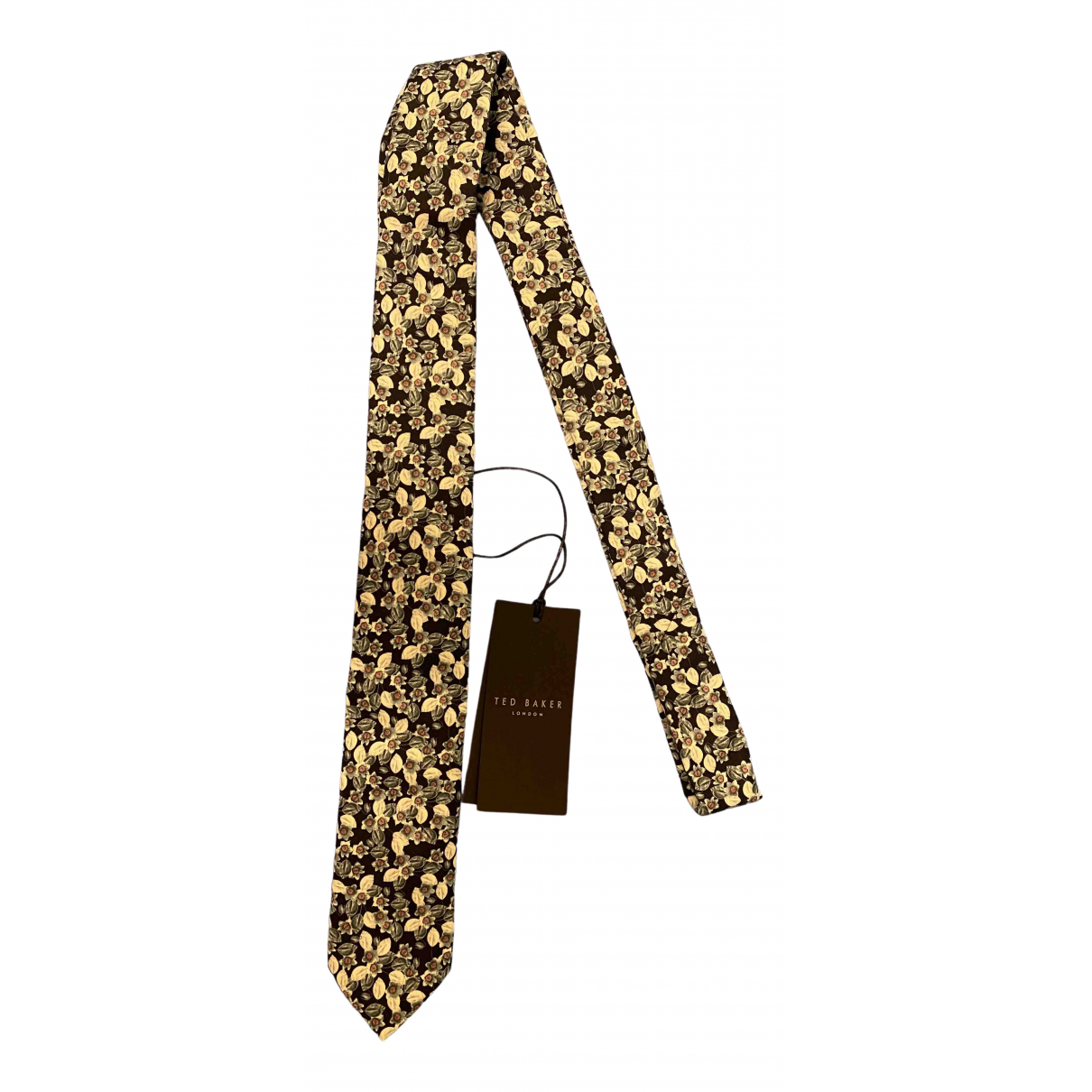 Ted Baker - Cravates   pour homme en soie - multicolore
