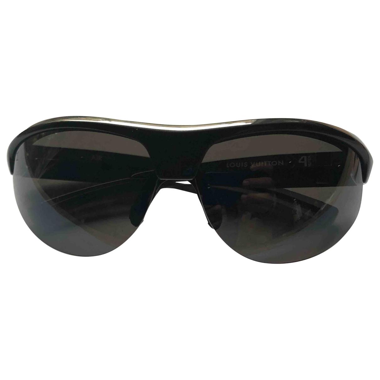 Louis Vuitton \N Sonnenbrillen in  Anthrazit Kunststoff