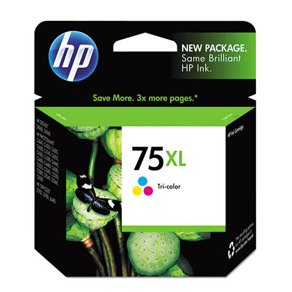 HP 75XL CB338WN Original Color Ink Cartridge High Yield