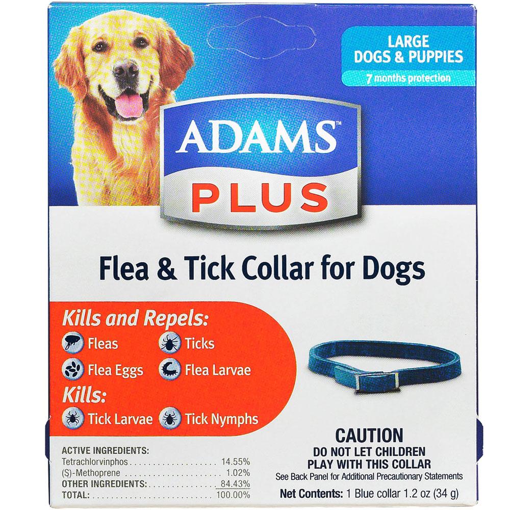 Adams Plus Flea & Tick Collar for Large Dogs (7 Months)