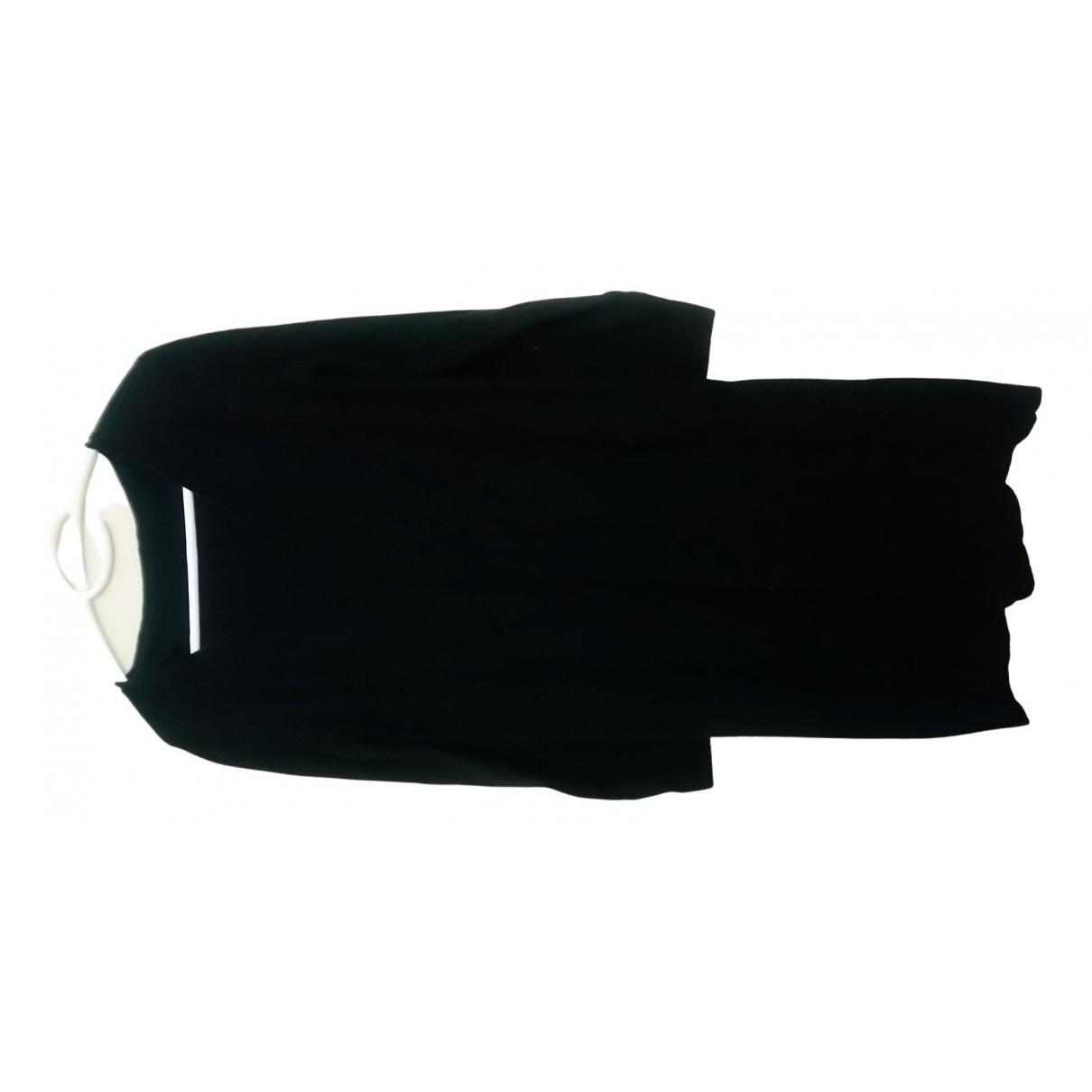 Non Signé / Unsigned \N Black Cashmere dress for Women 44 FR