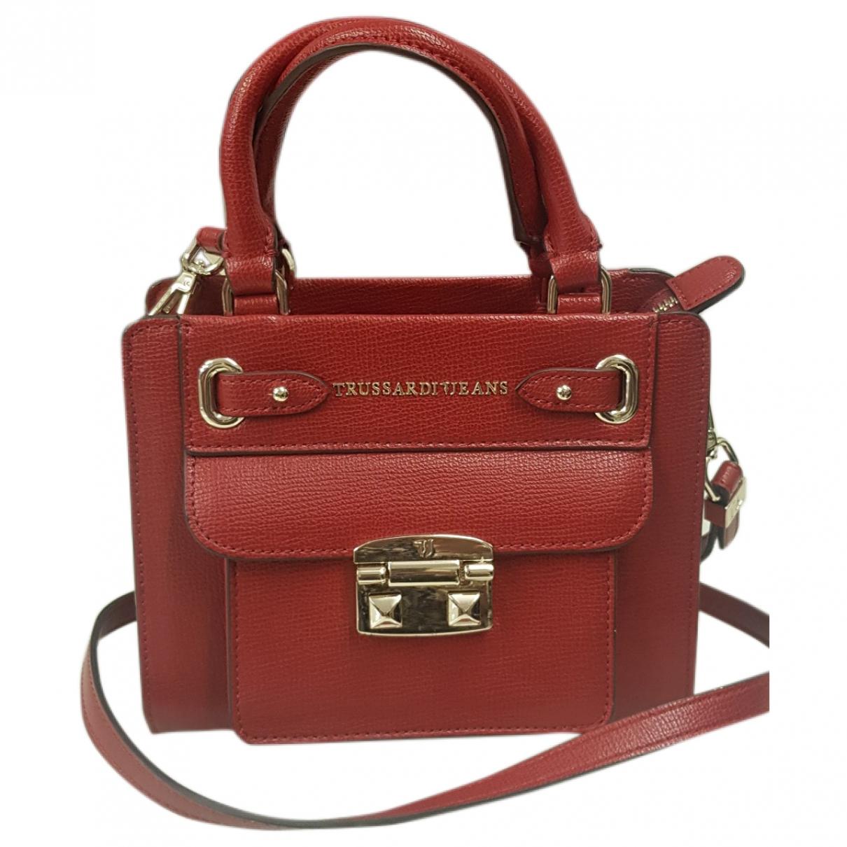 Trussardi Jeans \N Handtasche in  Rot Polyester