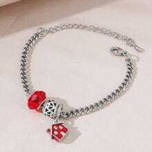 Red House Charm Bracelet
