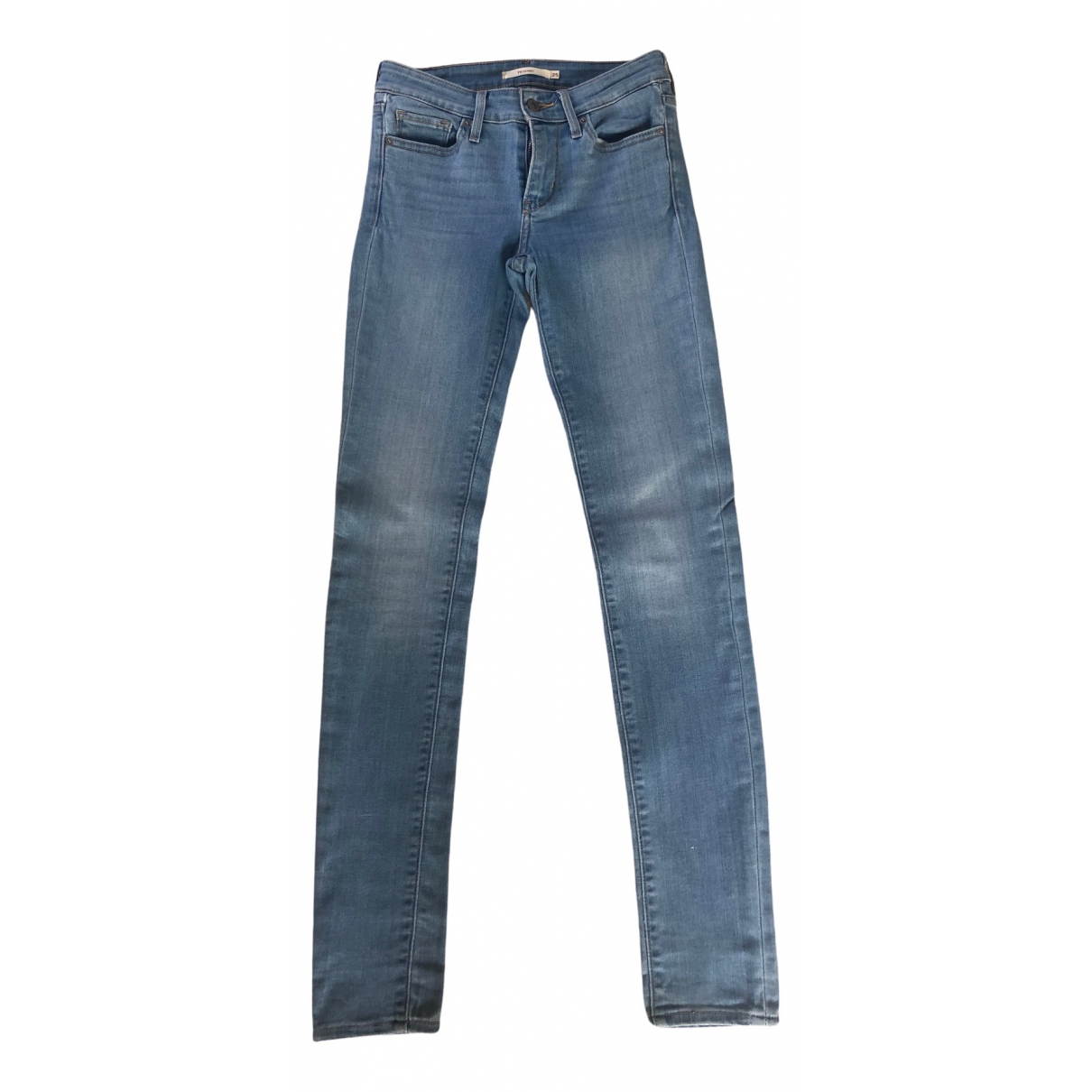 Levi's \N Blue Cotton - elasthane Jeans for Women 25 US