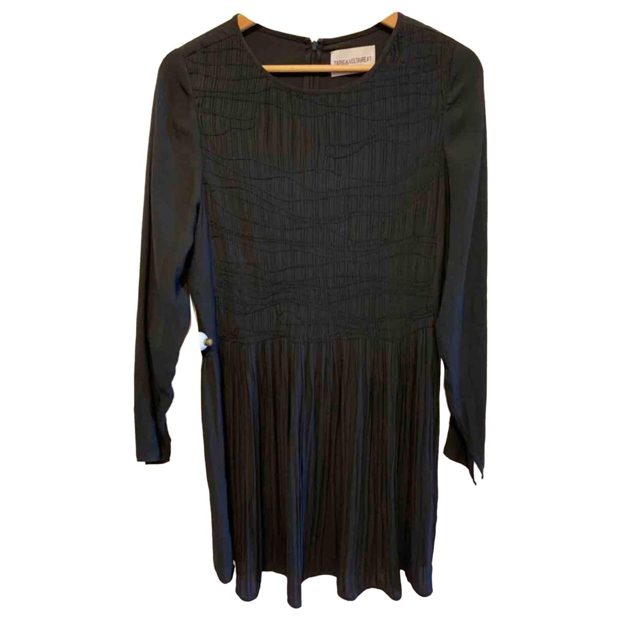 Zadig & Voltaire \N Kleid in  Schwarz Polyester