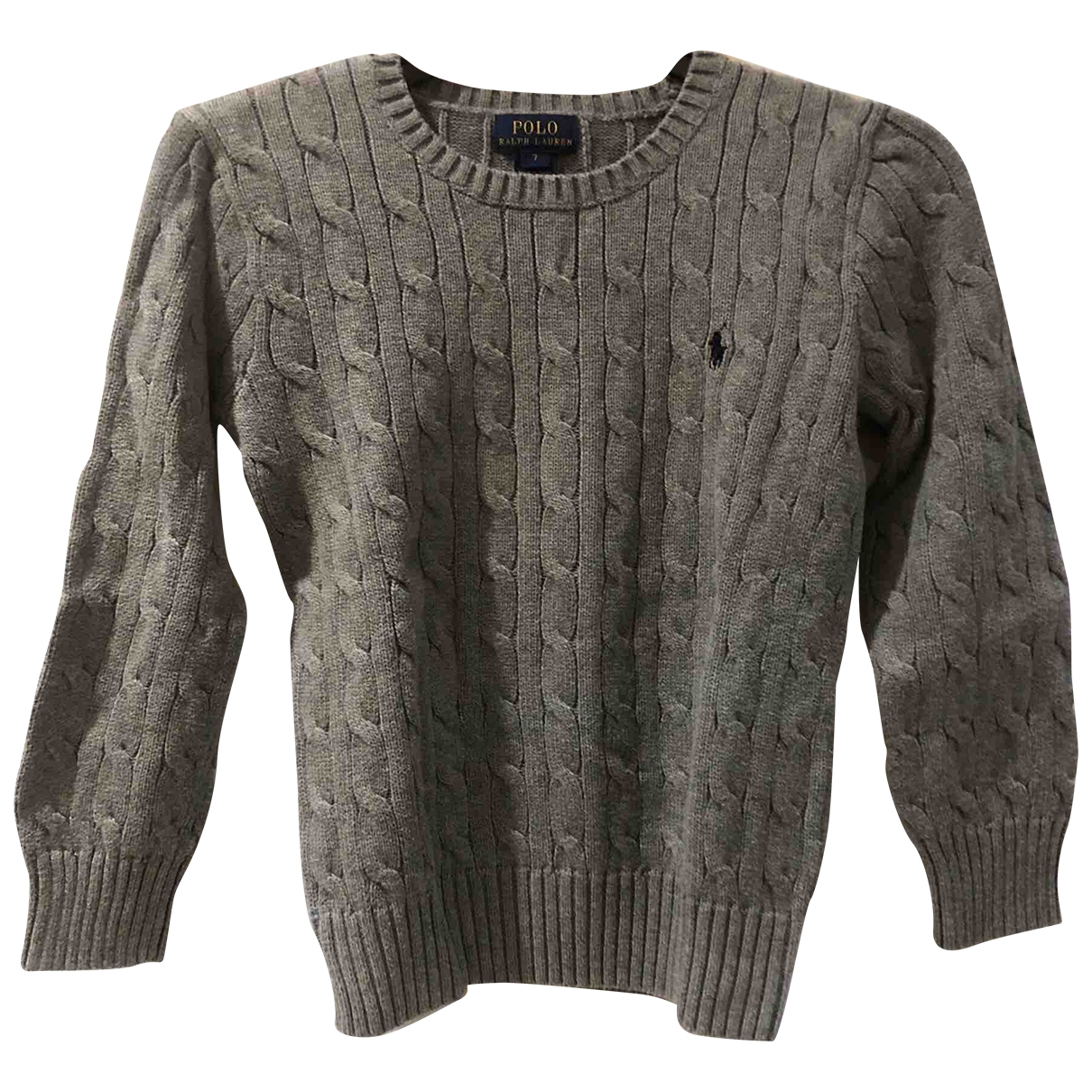 Polo Ralph Lauren \N Grey Cotton Knitwear for Kids 6 years - up to 114cm FR