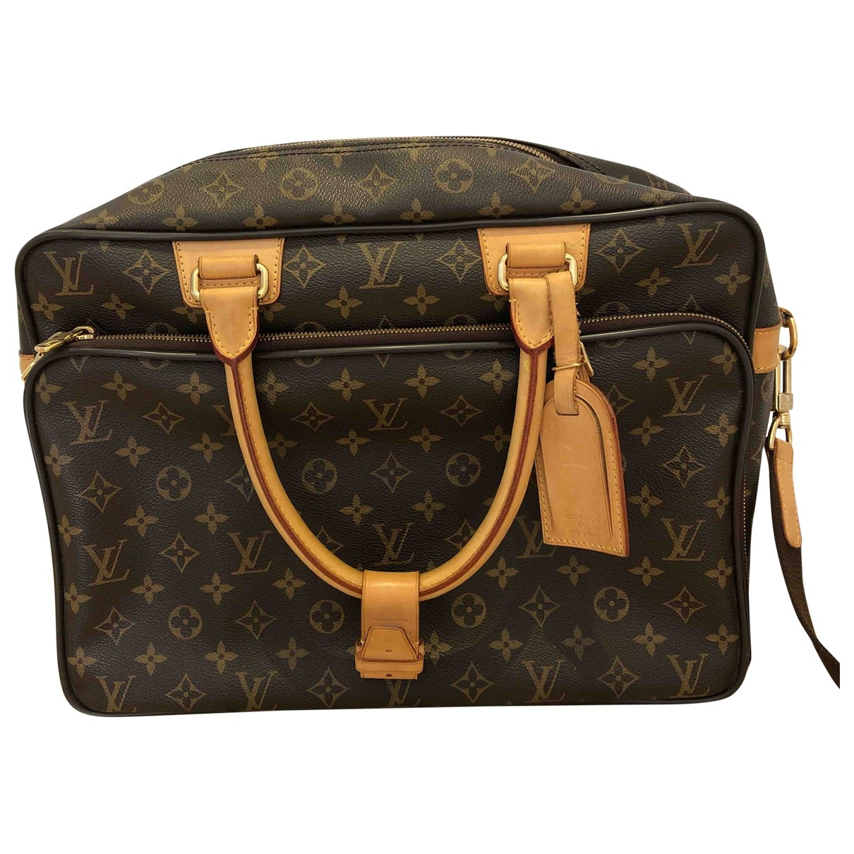 Louis Vuitton Icare Brown Cloth bag for Men \N