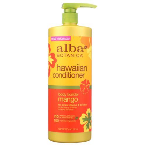 Hawaiian Conditioner Mango Body Builder 32 Oz by Alba Botanica
